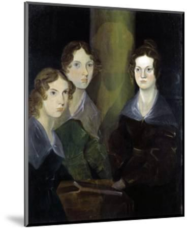 The Bronte Sisters-Patrick Branwell Bronte-Mounted Giclee Print