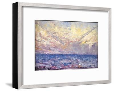 Setting Sun-Frederick McCubbin-Framed Giclee Print