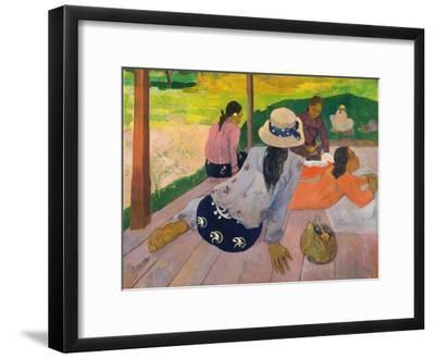 The Siesta-Paul Gauguin-Framed Giclee Print