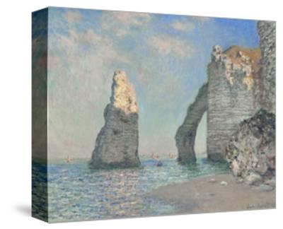 The Cliffs at Etretat-Claude Monet-Stretched Canvas Print