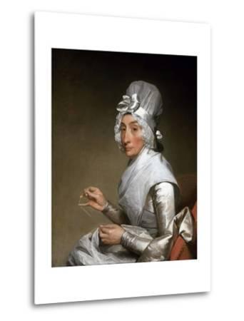Catherine Brass Yates (Mrs. Richard Yates)-Gilbert Stuart-Metal Print