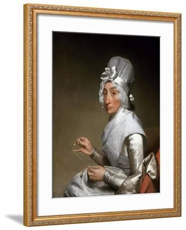 Catherine Brass Yates (Mrs. Richard Yates)-Gilbert Stuart-Framed Giclee Print