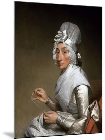 Catherine Brass Yates (Mrs. Richard Yates)-Gilbert Stuart-Mounted Giclee Print