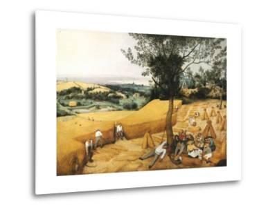 The Harvesters-Pieter Bruegel the Elder-Metal Print