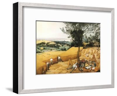 The Harvesters-Pieter Bruegel the Elder-Framed Giclee Print