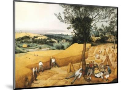 The Harvesters-Pieter Bruegel the Elder-Mounted Giclee Print
