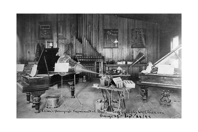 Edison's Experimental Department--Premium Giclee Print