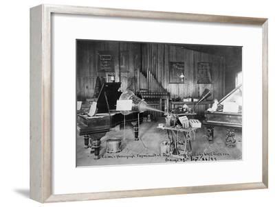 Edison's Experimental Department--Framed Premium Giclee Print