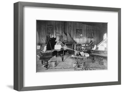 Edison's Experimental Department--Framed Giclee Print
