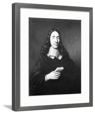 Painting of Dutch Philosopher Spinoza--Framed Giclee Print