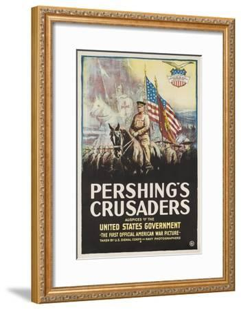Pershing's Crusaders Poster--Framed Giclee Print