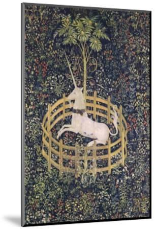 The Unicorn in Captivity Tapestry--Mounted Giclee Print