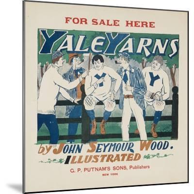 Yale Yarns Poster--Mounted Giclee Print