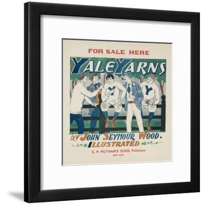 Yale Yarns Poster--Framed Giclee Print