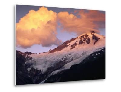 Coleman Glacier and Mount Baker-Paul Souders-Metal Print