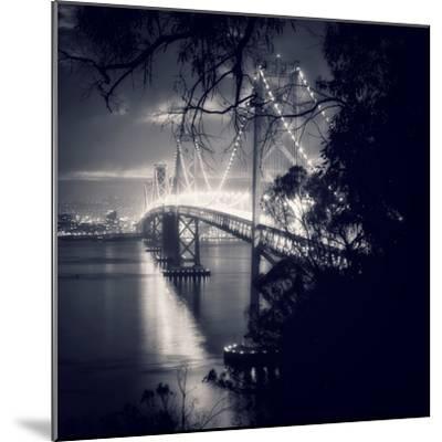 Bay Bridge, All Dressed Up, San Francisco-Vincent James-Mounted Photographic Print