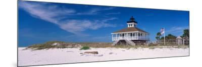 Lighthouse on the Beach, Port Boca Grande Lighthouse, Gasparilla Island State Park--Mounted Photographic Print
