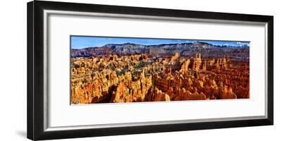 Hoodoo Rock Formations in Bryce Canyon National Park, Utah, USA--Framed Photographic Print