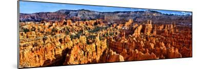 Hoodoo Rock Formations in Bryce Canyon National Park, Utah, USA--Mounted Photographic Print