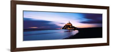 Mont Saint Michel France--Framed Photographic Print