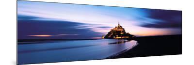 Mont Saint Michel France--Mounted Photographic Print