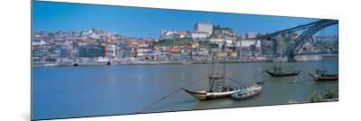 Ponte De Dom Luis I and Douro River Porto Portugal--Mounted Photographic Print