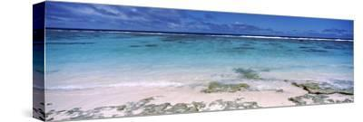 Reef, Rarotonga, Cook Islands, New Zealand--Stretched Canvas Print