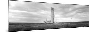 Barn Near a Silo in a Field, Texas Panhandle, Texas, USA--Mounted Photographic Print