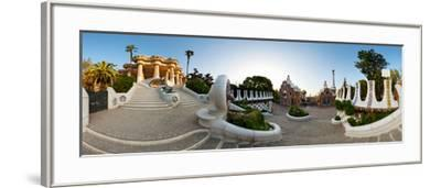 Park Guell, Barcelona, Catalonia, Spain--Framed Photographic Print