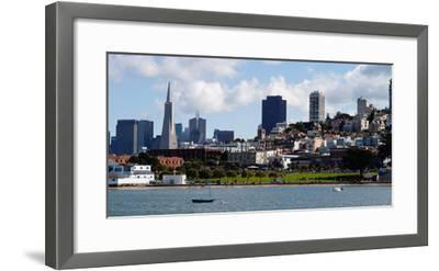 Buildings at the Waterfront, Transamerica Pyramid, Pacific Heights, San Francisco, California--Framed Photographic Print
