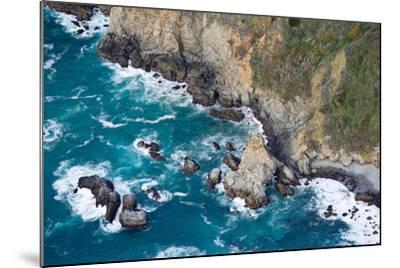 Aerial View of a Coast, Big Sur, Monterey County, California, USA--Mounted Photographic Print