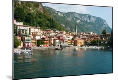 Buildings in a Town at the Waterfront, Varenna, Lake Como, Lombardy, Italy--Mounted Photographic Print