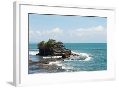 Sea Temple, Tanah Lot Temple, Tanah Lot, Bali, Indonesia--Framed Photographic Print