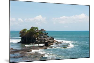 Sea Temple, Tanah Lot Temple, Tanah Lot, Bali, Indonesia--Mounted Photographic Print