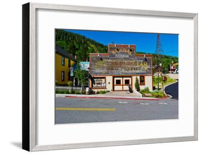 Facade of the High West Distillery Building, Park City, Utah, USA--Framed Photographic Print
