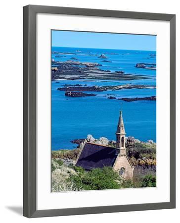 La Trinite Chapel at Ile-De-Brehat Archipelago, Cotes-D'Armor, Brittany, France--Framed Photographic Print