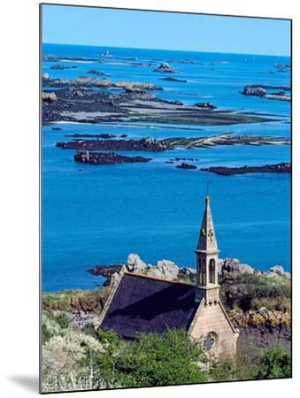 La Trinite Chapel at Ile-De-Brehat Archipelago, Cotes-D'Armor, Brittany, France--Mounted Photographic Print
