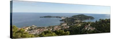 High Angle View of a Town, Saint-Jean-Cap-Ferrat, Nice, Provence-Alpes-Cote D'Azur, France--Stretched Canvas Print