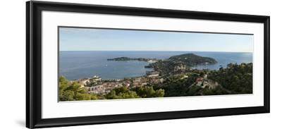 High Angle View of a Town, Saint-Jean-Cap-Ferrat, Nice, Provence-Alpes-Cote D'Azur, France--Framed Photographic Print