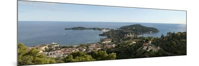 High Angle View of a Town, Saint-Jean-Cap-Ferrat, Nice, Provence-Alpes-Cote D'Azur, France--Mounted Photographic Print