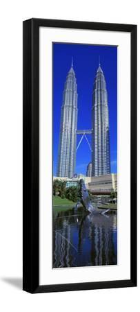 Petronas Towers Kuala Lumpur Malaysia--Framed Photographic Print