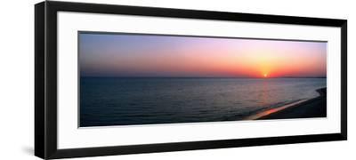 Seascape the Algarve Portugal--Framed Photographic Print