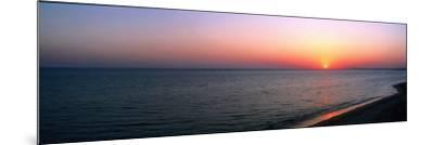 Seascape the Algarve Portugal--Mounted Photographic Print