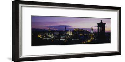 Scotland, Edinburgh Castle--Framed Premium Photographic Print