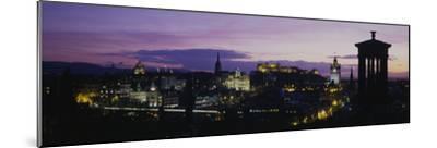 Scotland, Edinburgh Castle--Mounted Premium Photographic Print