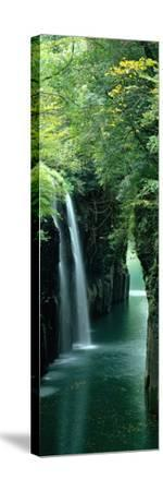 Waterfall Miyazaki Japan--Stretched Canvas Print