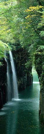 Waterfall Miyazaki Japan--Premium Photographic Print
