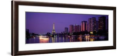 Evening Paris France--Framed Photographic Print