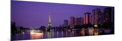 Evening Paris France--Mounted Photographic Print