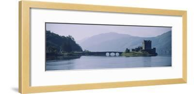 Castle at the Lakeside, Eilean Donan Castle, Loch Duich, Highlands Region, Scotland--Framed Photographic Print
